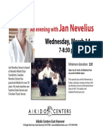 Jan Nevelius Shihan Friendship Class at Aikido Centers March 14, 2018