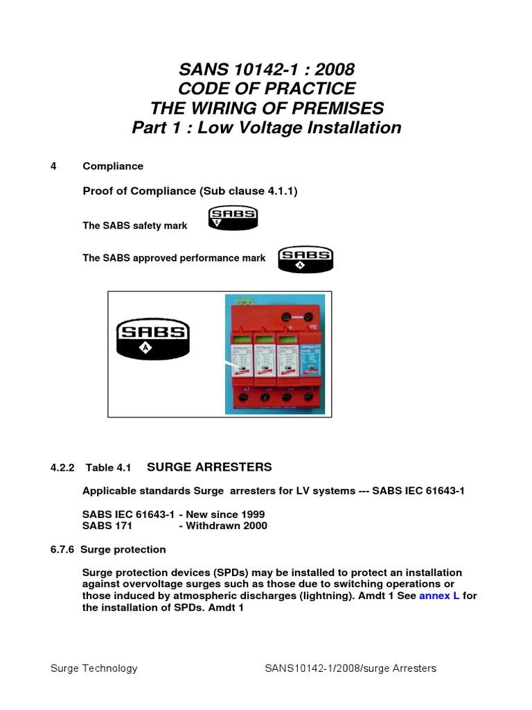 Tremendous Wiring Code Sans 10142 Pdf Basic Electronics Wiring Diagram Wiring 101 Akebwellnesstrialsorg