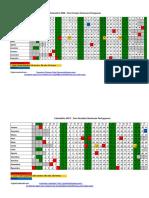 Calendário 2018 Portugal Excel
