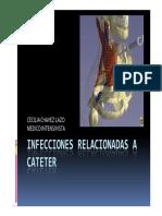 Infecciones Relacionadas a Cateter