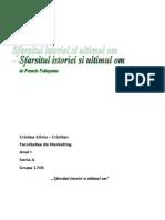 Sfarsitul Istoriei Si Ultimul Om de Francis Fukuyama