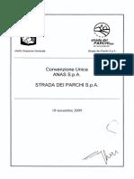 Convenzione Unica Anas Strada Dei Parchi