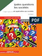 EP Principales Questions Droit Societes 2017 Extrait