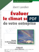 Evaluer Le Climat Social de Votre Entreprise
