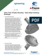 Sb2125 - Valve Head Cracking Breakage