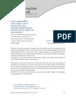 Comunicación concepto transdisciplinar