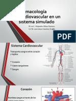 Farmacología Cardiovascular en Un Sistema Simulado
