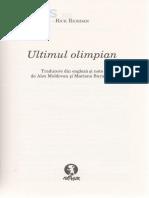 Percy Jackson Si Olimpienii 5 Ultimul Olimpian - Rick Riordan(2)