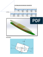 Calculo Estabilidad Transversal de Canoa Fluvial