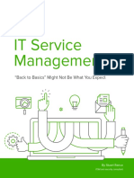 ITSM Best Practice Guide Back to Basics Might Not Be What You Expect