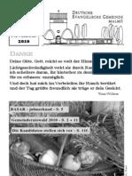 Gemeindebrief Herbst 2010