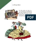 The Crinoline or Hoop Skirt
