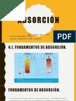 Adsorcion Prof.ruth Operaciones Unitarias 3 Melo,Romo