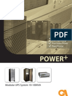Power+ a parallel redundant UPS - Uninterruptible Power Supply