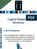 2127AK413L51520171 Capital Budgeting