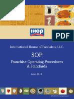 IHOP Sop Operating Procedures and Standards June2013