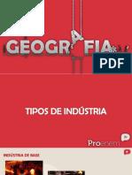 Tipos de Industrias