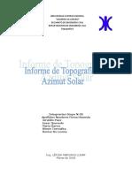 Informe Azimut Solar