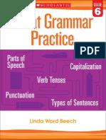 1ward Beech Linda Great Grammar Practice Grade 6