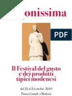 La Bonissima Modena 2010