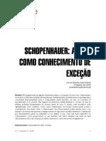01c Artigo - Arte - Schopenhauer