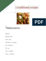Bengali Traditional Recipes