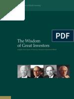 TheWisdomOfGreatInvestors