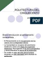 laarquitecturadelcinquecento-090316045043-phpapp01.ppt