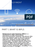 MPLS Deployment Chapter 1 - Basic1