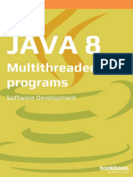 Java 8 Multithreaded Programs