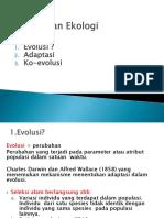 2. Evolusi Dan Ekologi 2017