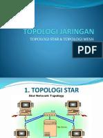 Topologi Jaringan Star Dan Mesh