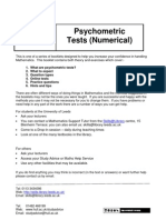 Numerical Psycho Metric_ Tests Booklet com