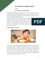 Alimentos Contra La Anemia Infantil