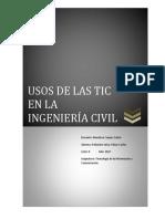 Usos de Las TIC en La Ingenieria Civil UNS