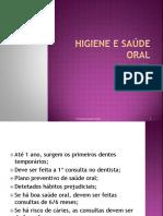 Higiene e Saúde Oral