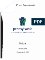 Real ID Options 2008
