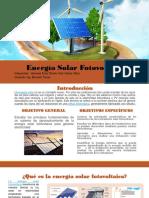 Energía Solar Fotovoltaica Diapo