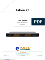 Axel Falcon XT User Manual