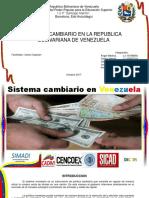 Sistema Cambiario en Venezuela