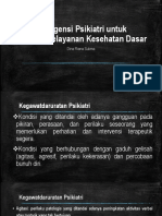 PPT Emergency Psychiatric New