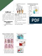 Leaflet Pemeriksaan Kehamilan