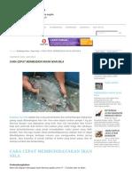 Cara Cepat Membudidayakan Ikan Nila Peternak Super Marga Tiga