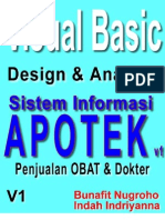 Skripsi Visual Basic 6.0 - Program Aplikasi APOTEK v1 - Desain dan Analisis Sistem Informasi Penjualan Obat di Toko Obat