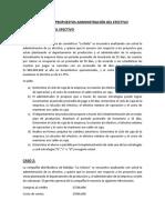 Ejercicios Propuestos Administración Del Efectivo