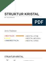 Struktur Kristal