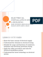 Electrical Installation System in a Building