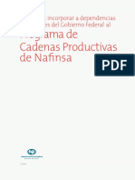 Folleto Cadenas Productivas