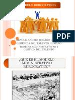 modelo burocratico