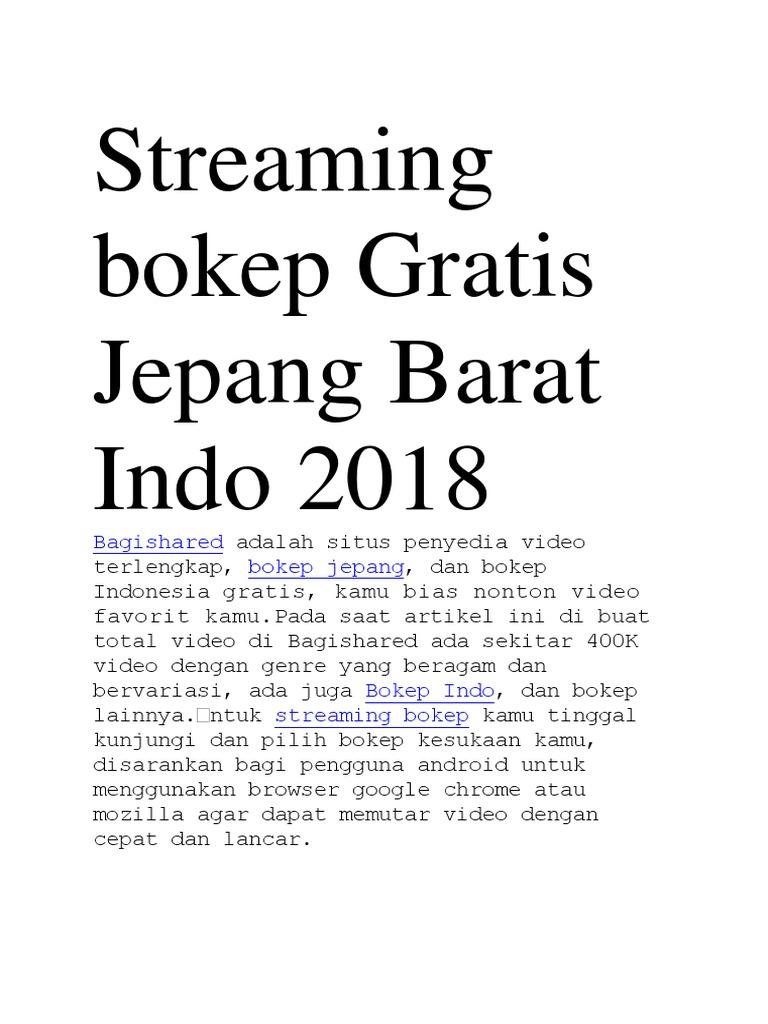 Streaming Bokep Gratis Jepang Barat Indo 2018